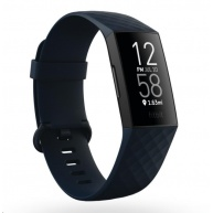 Fitbit Charge 4 (NFC) w integrated GPS & FitbitPay - Storm Blue/Black