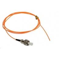 Pigtail MM 62,5/125, OM1, konektor ST, LS0H, 1m