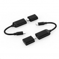 HyperDrive USB-C to 4K60Hz Mini DisplayPort & HDMI Adapter - černý