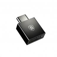 Baseus Exquisite adaptér USB-C samec/USB samice Černá