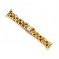 COTEetCI Excellence ocelový pásek pro Apple Watch 38 / 40mm zlatá