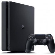 SONY PlayStation 4 1TB F Chasis (slim) - černý + GTS+U4+HZD