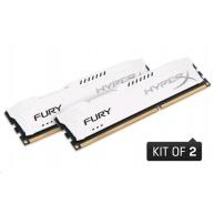 DIMM DDR3 8GB 1333MHz CL9 (Kit of 2) KINGSTON HyperX FURY White