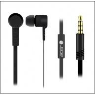 Acer In-Ear Headphones Black - Speaker O10mm, Sensitivity: 93db±5db, Frequency Response: 20Hz – 20KHz