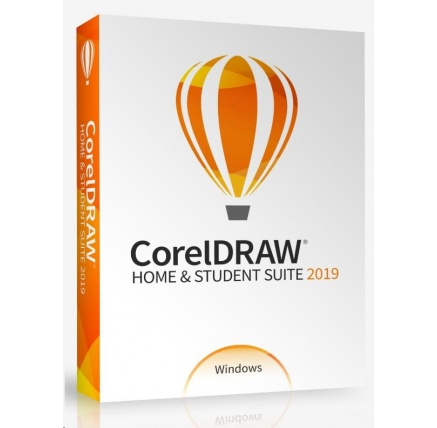 CorelDRAW Home & Student Suite 2019 CZ/PL  BOX