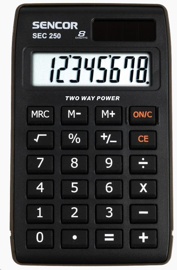 Sencor kalkulačka  SEC 250