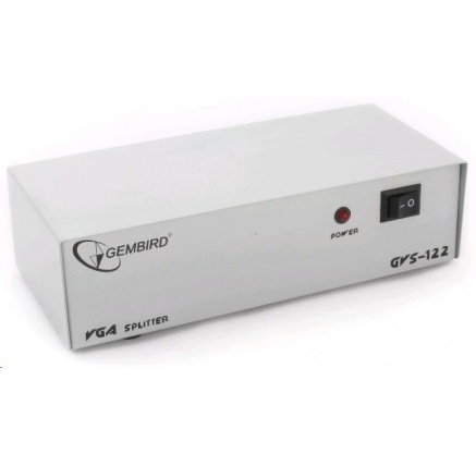 GEMBIRD VGA rozbočovač (splitter) 2 porty