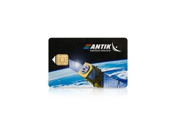 SKYLINK Karta ANTIK - prístupová karta pre satelitnú televíziu Antik