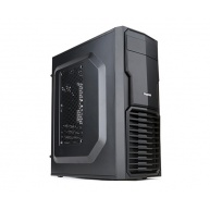 ZALMAN T4 - skříň minitower, mATX/mITX, bez zdroje, USB3.0, černá