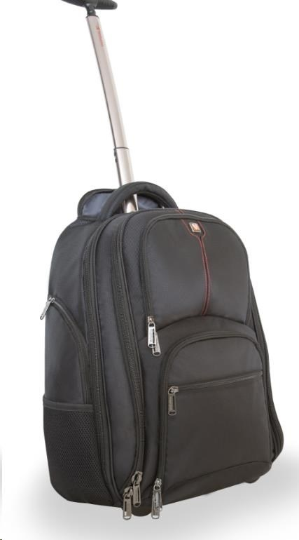 "VERBATIM Taška Batoh Notebook Backpack Roller ""Paris"" 17"" Blac"
