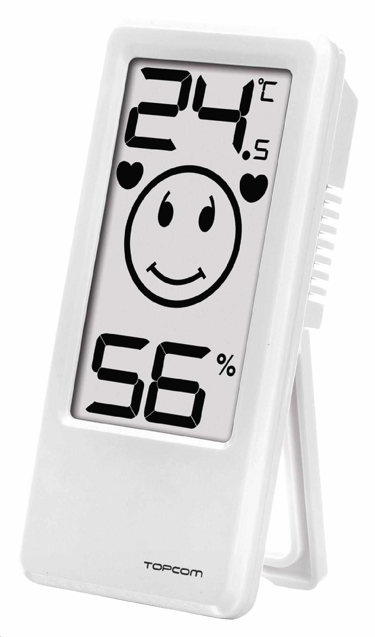 Topcom TH-4675 Baby Comfort Indicator 101-Digitálny pokojový teploměr/vlhkoměr