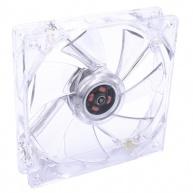 SilentiumPC přídavný ventilátor Zephyr 120 LED BLUE/ 120mm fan modrý/ ultratichý 13,6 dBA