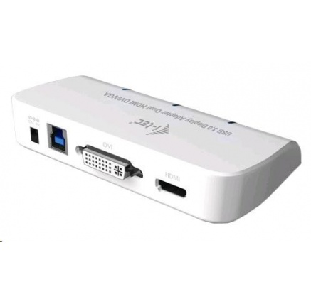iTec USB3.0 DVI/VGA/HDMI Dual Display Adapter FullHD+ 1152p