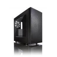 FRACTAL DESIGN skříň DEFINE S, USB 3.0 Black, průhledný bok, bez zdroje