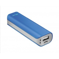 TRUST Primo PowerBank 2200 Portable Charger, blue