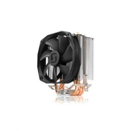 SilentiumPC chladič CPU Spartan 3 PRO HE1024/ ultratichý/ 100mm fan/ 4 heatpipes/ PWM/ pro Intel, AMD