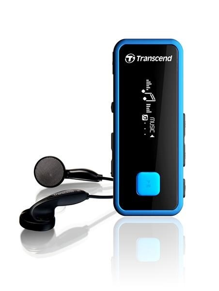 TRANSCEND MP3 Player MP350, 8GB, Black