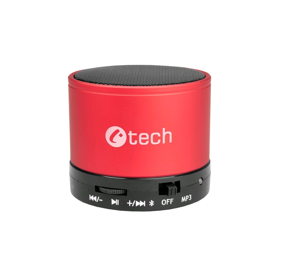 C-TECH repro SPK-04R, bluetooth, červené