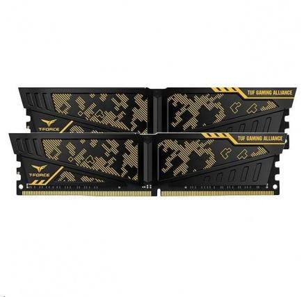DIMM DDR4 32GB 2400MHz, CL15, (KIT 2x16GB), TEAM T-FORCE VULVAN TUF Gaming Alliance