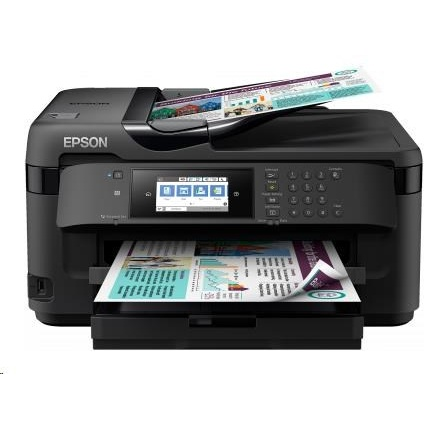 EPSON tiskárna ink WorkForce WF-7710DWF, 4in1, A3, 32/20ppm draft, 4ink, USB, Ethernet, Duplex, WIFI, NFC