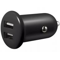 Sandberg nabíječka do auta SAVER, 2x USB, 2.1 A, černá