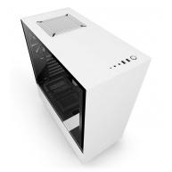 NZXT skříň H500 / ATX / průhledná bočnice / 2x USB 3.0 / bílá