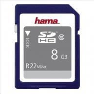 Hama high Speed Gold SDHC 8 GB Class 10, 22 MB/s