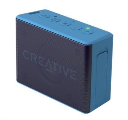 Creative repro Muvo 2C mobilní vodovzdorný bezdrátový reproduktor - modrý