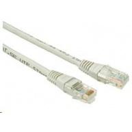 Solarix Patch kabel CAT5E UTP PVC 0,5m šedý non-snag-proof C5E-155GY-0,5MB