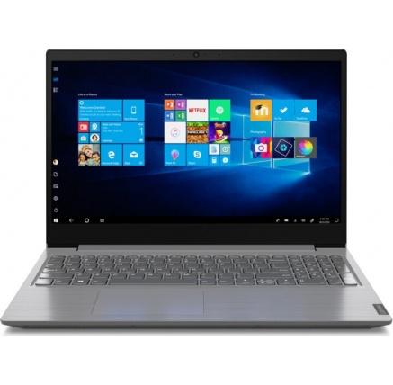 """LENOVO NTB V15-IIL - i3-1005G1@1.2GHz,15.6"""" FHD,8GB,512SSD,noDVD,HDMI,čt.pk,cam,Intel UHD,W10H,2r carryin,šedá"""