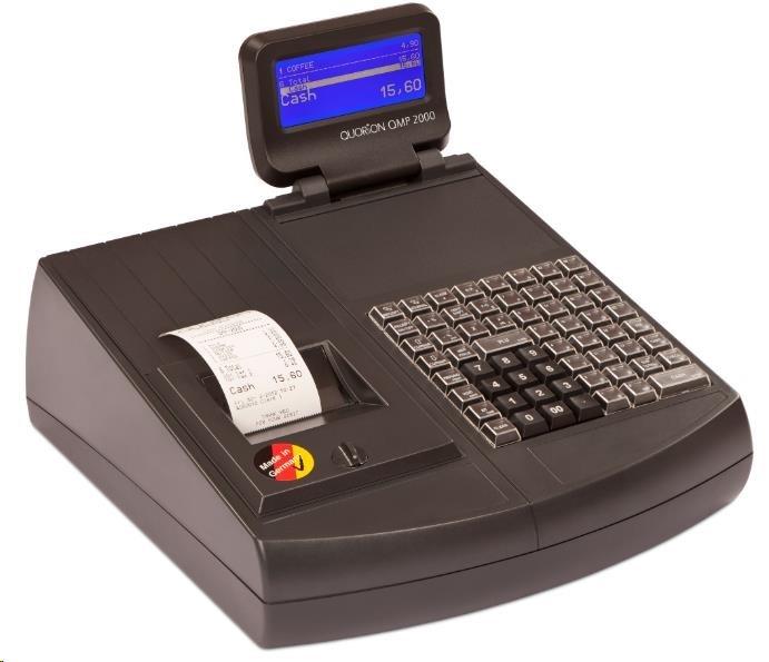 Quorion registrační pokladna QMP 2044 2xRS/USB lock + EET Box