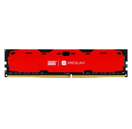 DIMM DDR4 16GB 2400MHz CL15 (Kit 2x8GB) GOODRAM IRDM, red