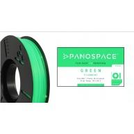 FILAMENT Panospace type: PLA -- 1,75mm, 750 gram per roll - Zelená
