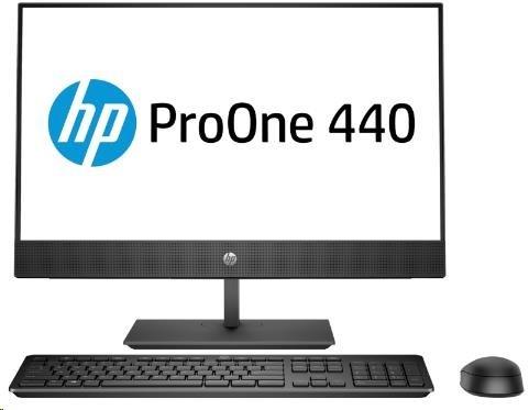 HP ProOne 440G4 AiO 23.8NT i5-8500T,8GB,256GB M.2,WiFi a/b/g/n/ac+BT,usb kláv. a myš,SD MCR,DVDRW,120W,DP+HDMI,Win10Pro
