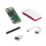 Raspberry Pi Zero W kit (USB/HDMI adaptér, krabička, header)