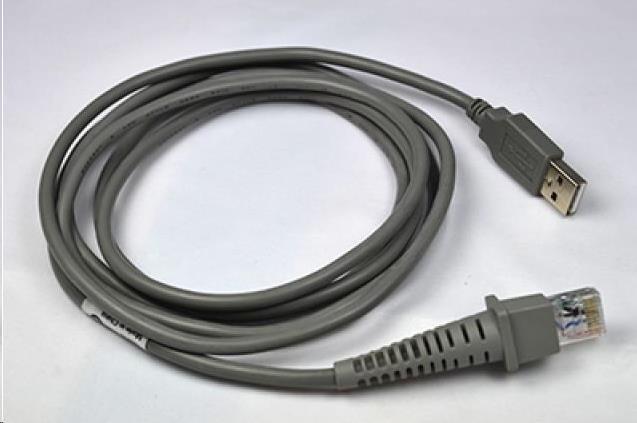 Datalogic USB, Type A, rovný, CAB-426, 1,8m