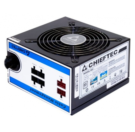 CHIEFTEC zdroj A80 Series, CTG-750C, 750W, 12cm fan, Active PFC, Modular, Retail, 85+