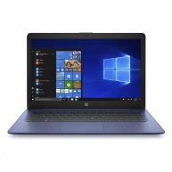 """HP NTB 14-ds0010nc, 14"""" FHD IPS, A4-9120e dual, 4GB DDR4, 64GB eMMC, AMD Graphics, Ofc365-1y;  Win10 Blue"""