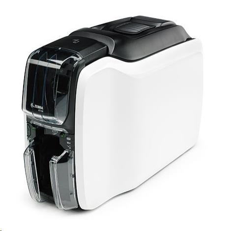 Zebratiskárna karet ZC100, Single Sided, USB/Ethernet, ISO HiCo/LoCo Mag S/W Selectable