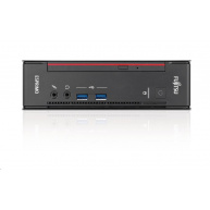 FUJITSU PC Q558 - i3-8100@3.6GHz 4C, 4GB, 500GB, DVDRW, 2xDP, DVI, W10PR  USFF - ultra small form factor