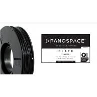 FILAMENT Panospace type: PLA -- 1,75mm, 326 gram per roll - Černá