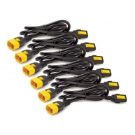 APC Power Cord Kit (6 ks), Locking, C13 to C14, 0.6m