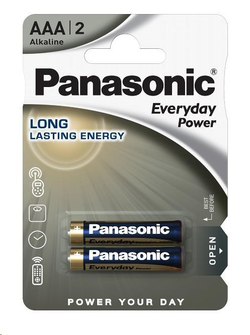 PANASONIC Alkalické baterie - Everyday Power  AAA 1,5V 2ks