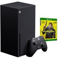 Xbox Series X, 1TB, černá + Cyberpunk 2077