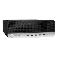HP ProDesk 405G4 SFF Ryzen 5 Pro 2400G 8GB,256GB M.2 NVMe,RX Vega 11,usb kl. a myš, DVDRW,180W plat.,2xDP+VGA,Win10Pro