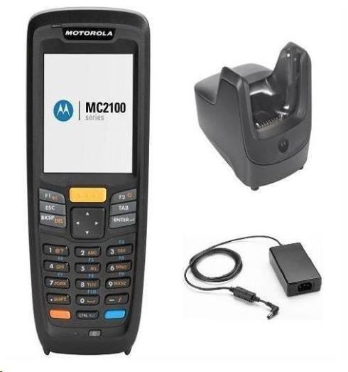 Motorola MC2180, WLAN Laser KIT, CE6 Core, 128/256MB, kolíbka, řemínek na ruku, USB kabel, zdroj K-MC2180-MS01E-CRD