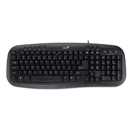 GENIUS klávesnice KB-M200, black, USB