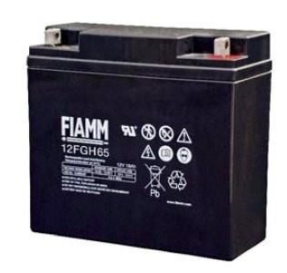 Baterie - Fiamm 12 FGH 65 (12V/18,0Ah - M5), životnost 5let