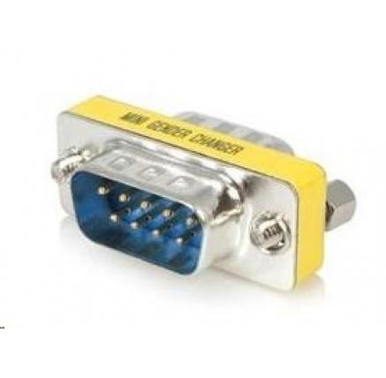 PREMIUMCORD Redukce sériový port 9M / 9M, krátká (Canon 9 pin)