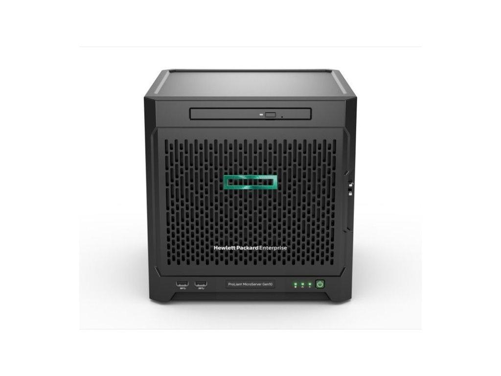 HPE PL MicroServer G10 X3216 (1.6-3.0G/2C/1M/12-15W) 1x8G No HDD/DVD 4LFF-NHP 200W UltraMicroTower